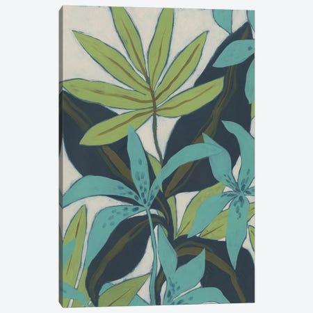 Jungle Blues II Canvas Print #JEV2496} by June Erica Vess Canvas Print