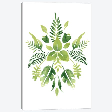 Verdant Vignette III Canvas Print #JEV249} by June Erica Vess Canvas Art