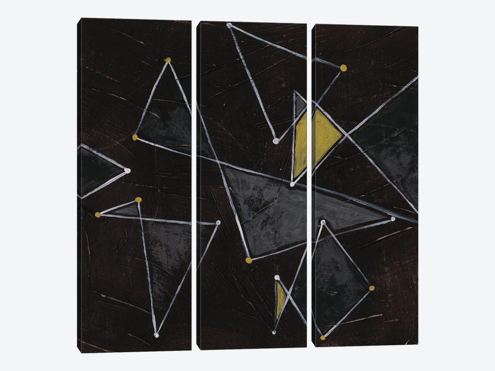 Algorithm I by June Erica Vess 3-piece Canvas Wall Art