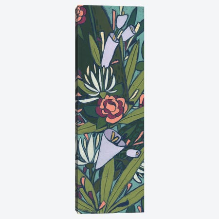 Lush Tropic Panel I Canvas Print #JEV2507} by June Erica Vess Canvas Print