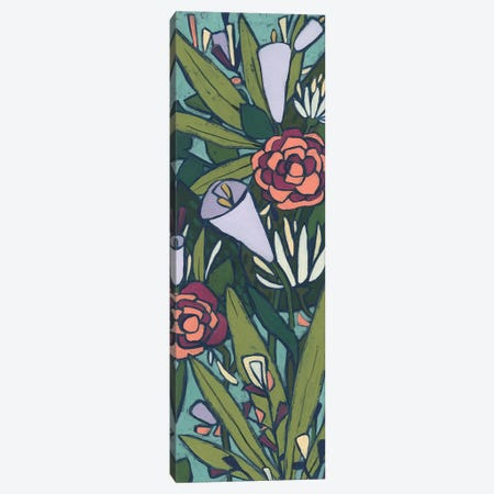 Lush Tropic Panel II Canvas Print #JEV2508} by June Erica Vess Canvas Wall Art