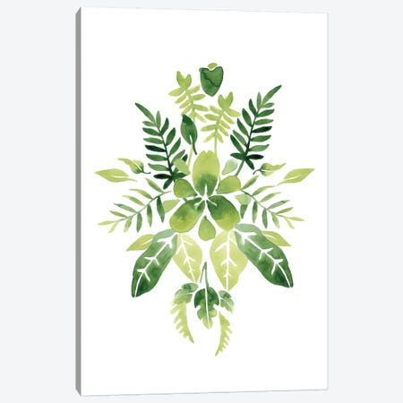 Verdant Vignette IV Canvas Print #JEV250} by June Erica Vess Art Print