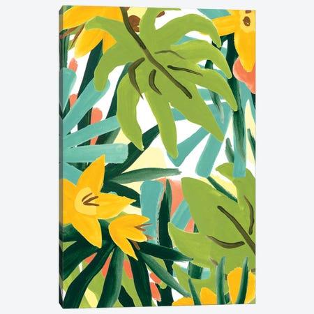 Palm Thatch II 3-Piece Canvas #JEV2520} by June Erica Vess Canvas Art