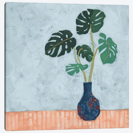Parlor Monstera I Canvas Print #JEV2521} by June Erica Vess Canvas Wall Art