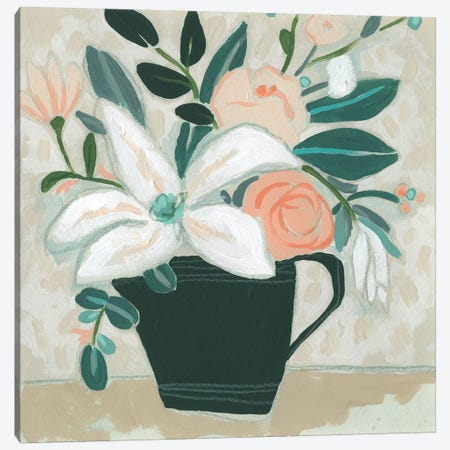 Terre Verte Garden I Canvas Print #JEV2535} by June Erica Vess Canvas Art