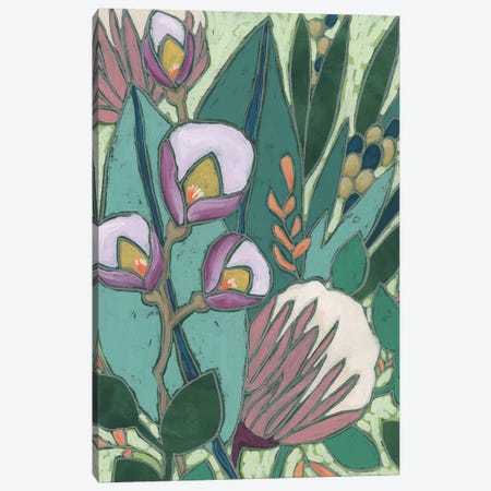 Tropical Reverie I Canvas Print #JEV2543} by June Erica Vess Canvas Artwork