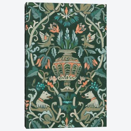 Verdant Tapestry I Canvas Print #JEV2545} by June Erica Vess Canvas Print