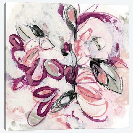 Fuchsia Floral I Canvas Print #JEV2582} by June Erica Vess Canvas Artwork