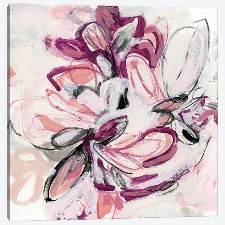 Fuchsia Floral II Canvas Print #JEV2583} by June Erica Vess Canvas Art
