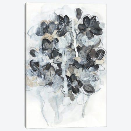 Monochrome Flora II Canvas Print #JEV2589} by June Erica Vess Canvas Artwork