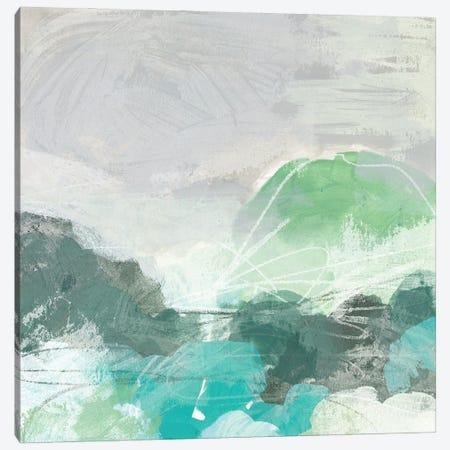 Ocean Hillside II Canvas Print #JEV2596} by June Erica Vess Canvas Wall Art