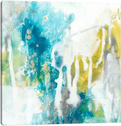Aquatic Atmosphere I Canvas Art Print