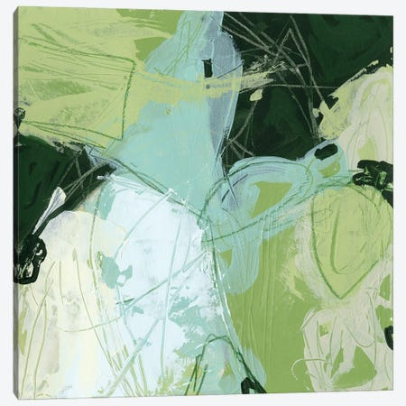Verdant Vortex II Canvas Print #JEV2614} by June Erica Vess Canvas Print