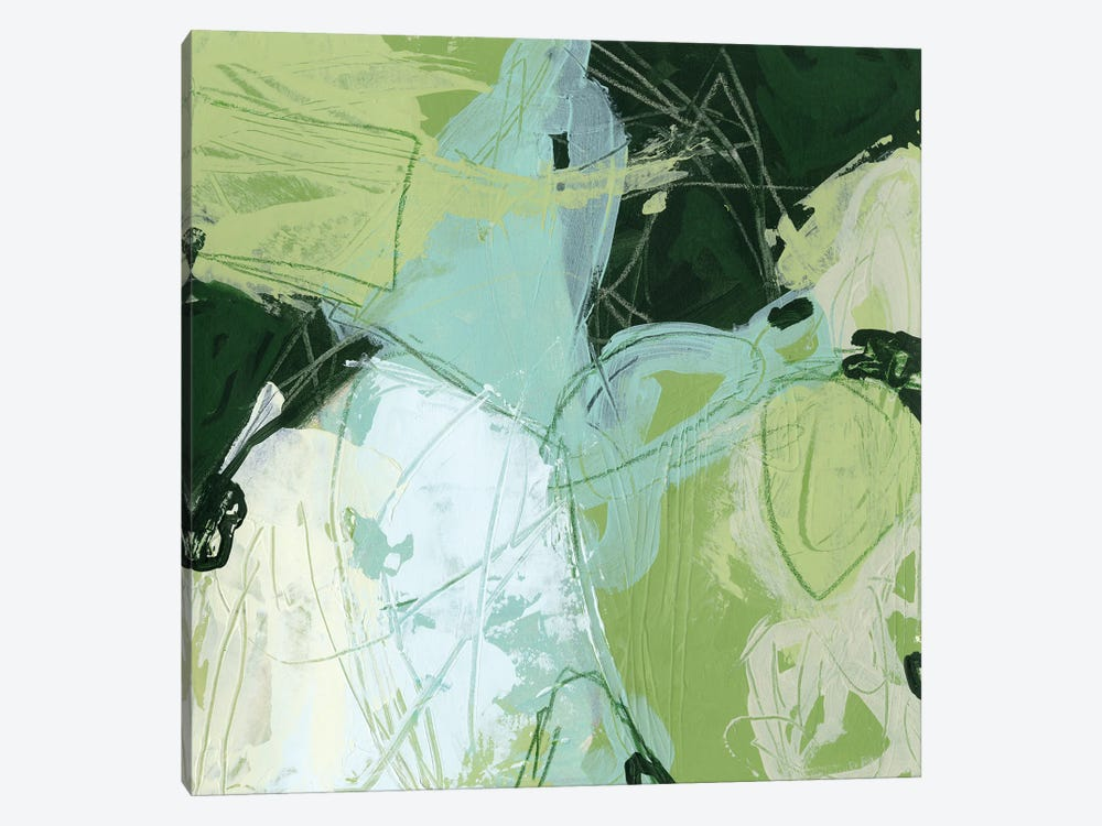 Verdant Vortex II by June Erica Vess 1-piece Canvas Wall Art
