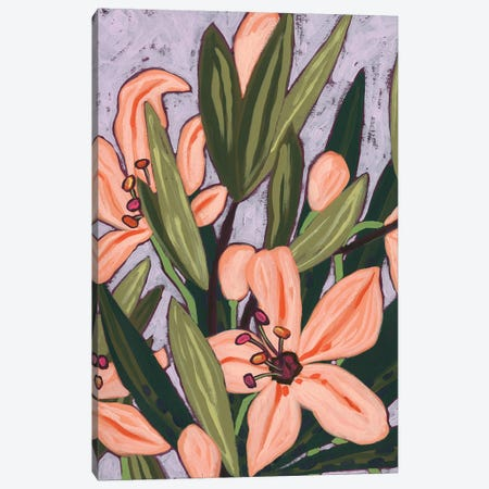 Island Lily II Canvas Print #JEV2626} by June Erica Vess Canvas Artwork