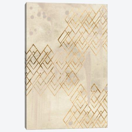 Deco Pattern in Cream I Canvas Print #JEV2637} by June Erica Vess Canvas Print