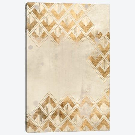 Deco Pattern in Cream III Canvas Print #JEV2639} by June Erica Vess Canvas Artwork