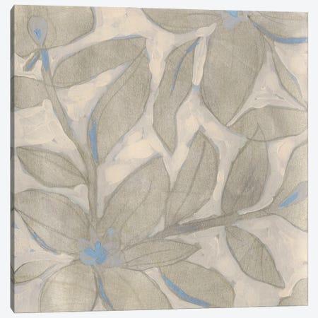 Silvertone Garden I 3-Piece Canvas #JEV2651} by June Erica Vess Canvas Wall Art