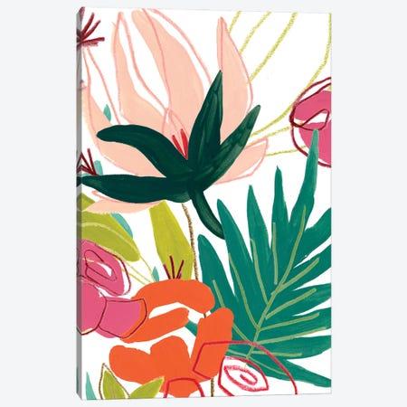 Tropical Confetti I Canvas Print #JEV2654} by June Erica Vess Canvas Art Print