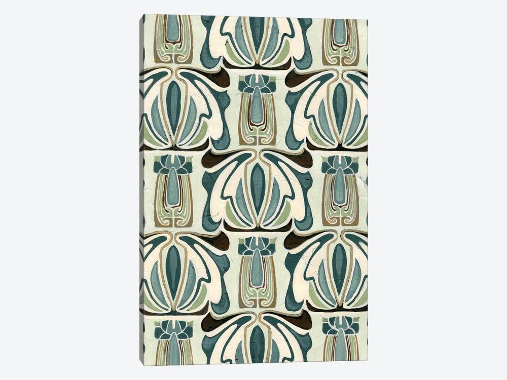 Deco Parlor Pattern I by June Erica Vess 1-piece Canvas Print
