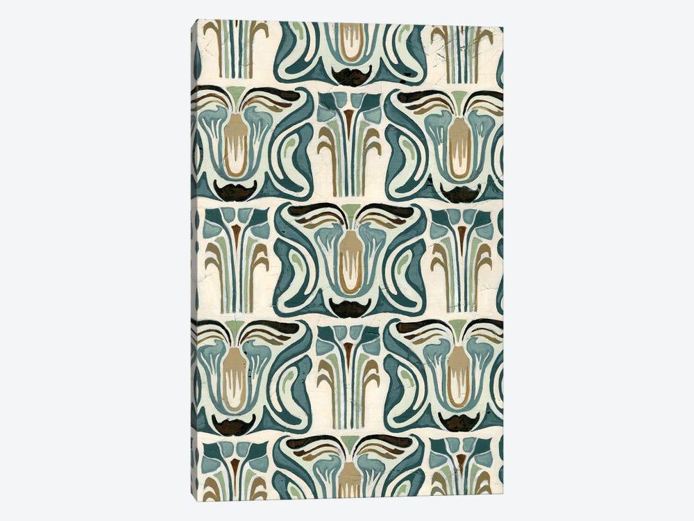 Deco Parlor Pattern II by June Erica Vess 1-piece Canvas Art