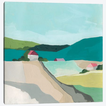Farm Vista I Canvas Print #JEV2662} by June Erica Vess Art Print