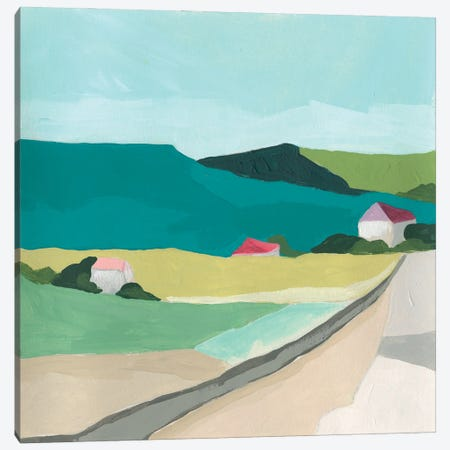 Farm Vista II Canvas Print #JEV2663} by June Erica Vess Canvas Print