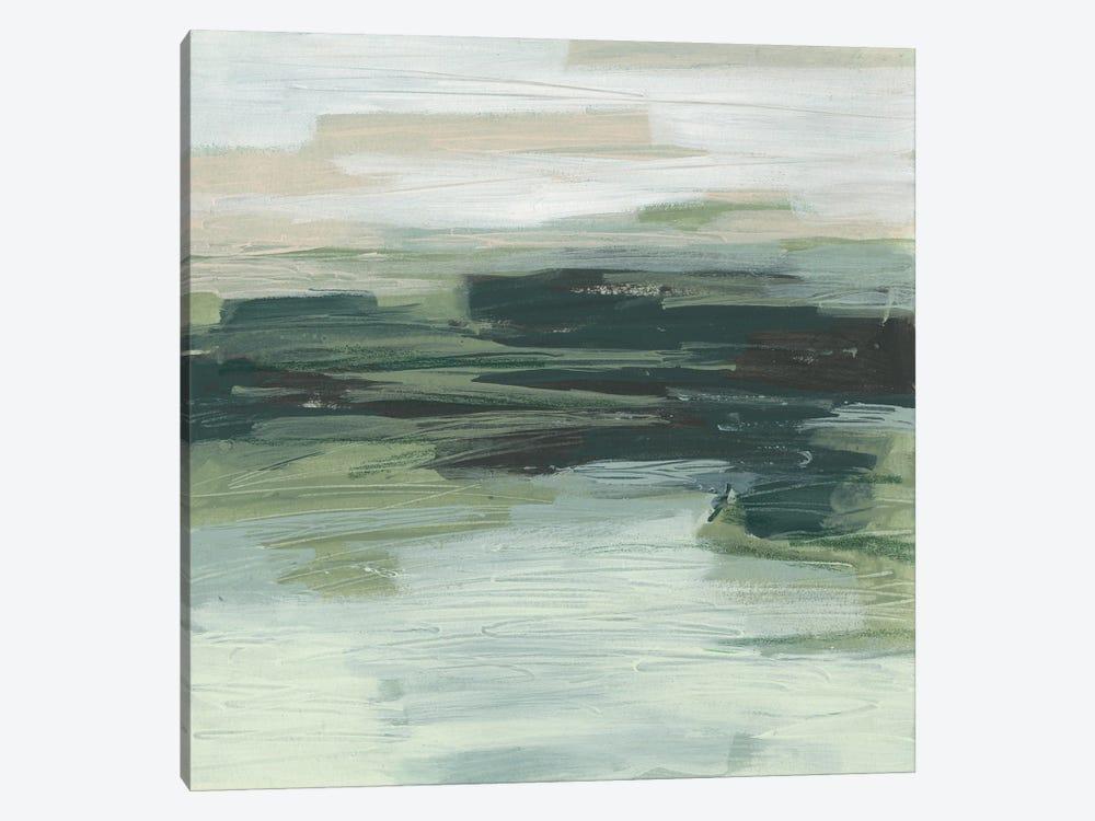 Moss Fields I by June Erica Vess 1-piece Canvas Artwork
