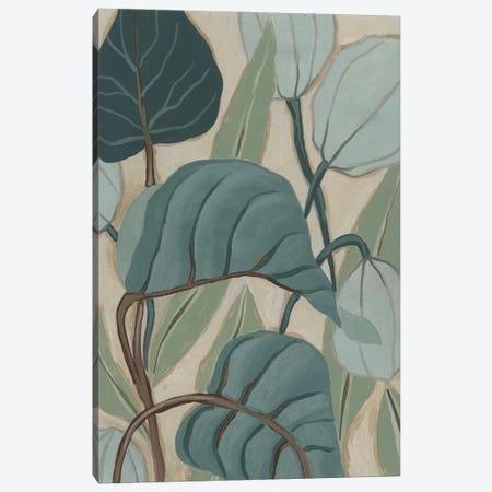 Slate Palms II Canvas Print #JEV2677} by June Erica Vess Canvas Print