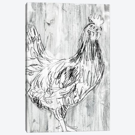 Barnwood Flock I Canvas Print #JEV2683} by June Erica Vess Art Print