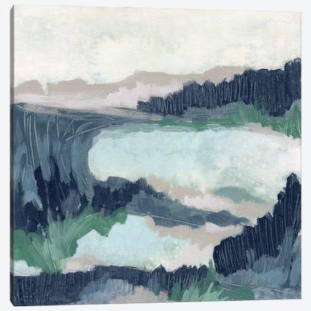 Blue Marsh Grove I Canvas Print #JEV2698} by June Erica Vess Canvas Artwork