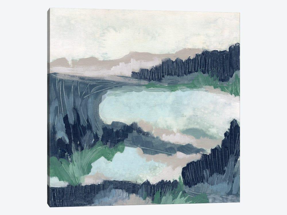 Blue Marsh Grove I by June Erica Vess 1-piece Canvas Artwork