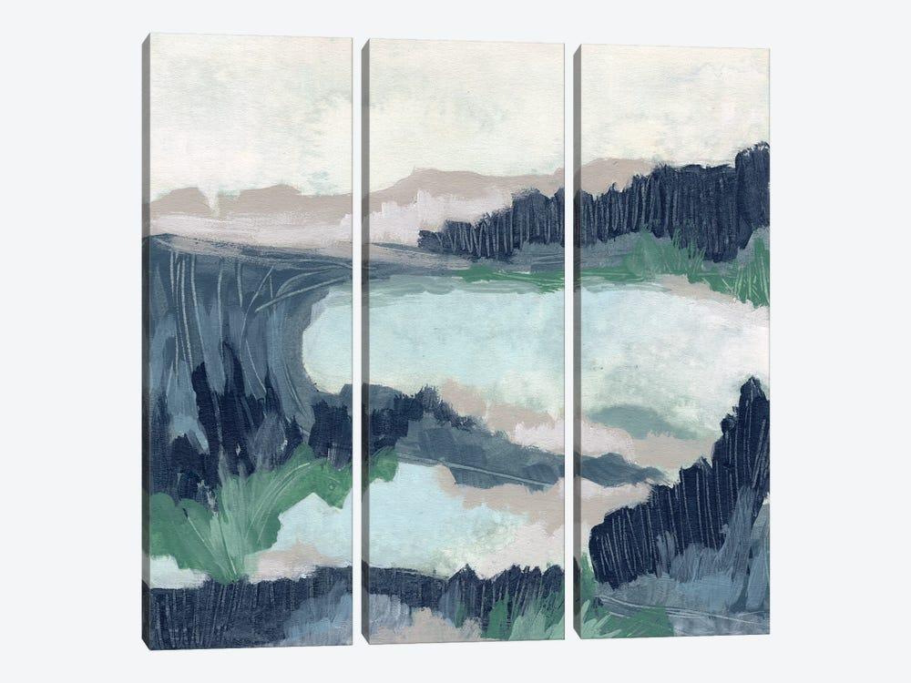 Blue Marsh Grove I by June Erica Vess 3-piece Canvas Art