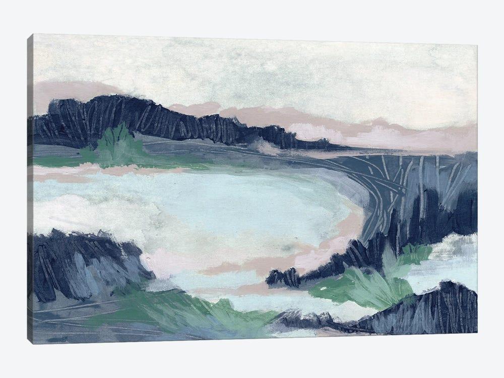 Blue Marsh Grove II by June Erica Vess 1-piece Canvas Print