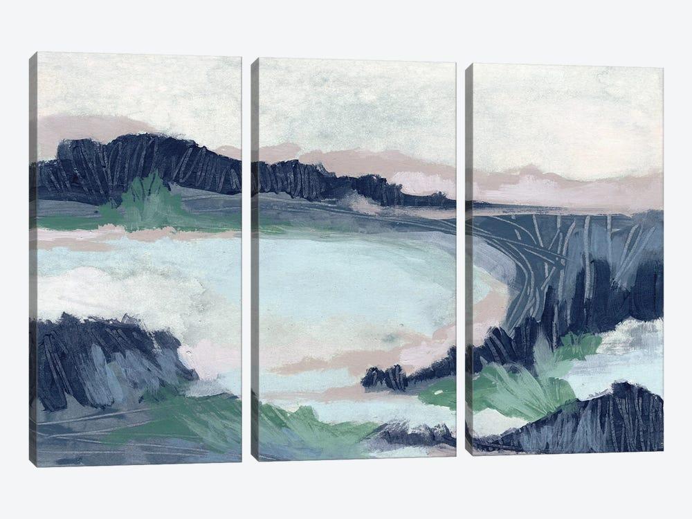 Blue Marsh Grove II by June Erica Vess 3-piece Art Print