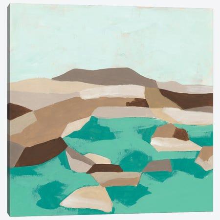 Geometric Shoals I Canvas Print #JEV2718} by June Erica Vess Canvas Print