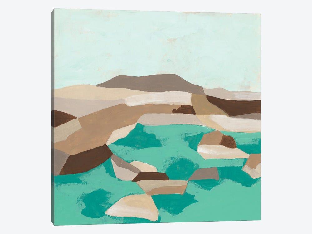 Geometric Shoals I by June Erica Vess 1-piece Canvas Art Print