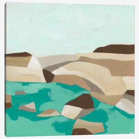 Geometric Shoals II Canvas Print #JEV2719} by June Erica Vess Art Print
