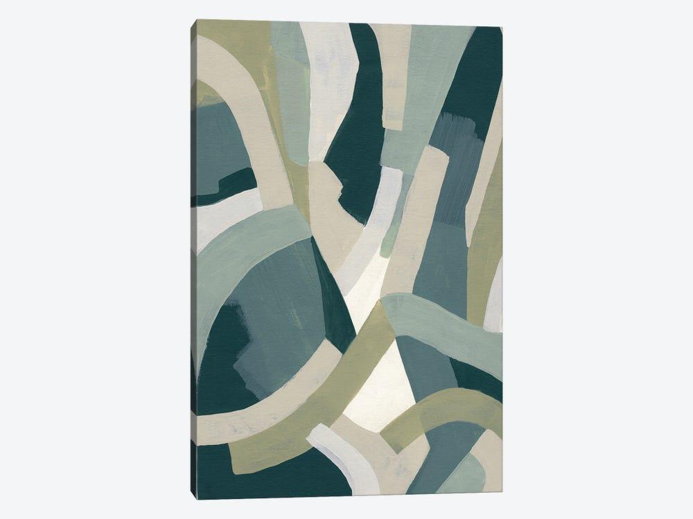 Limestone Puzzle II by June Erica Vess 1-piece Canvas Print