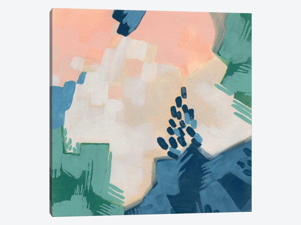 Pixel Data II by June Erica Vess 1-piece Canvas Artwork