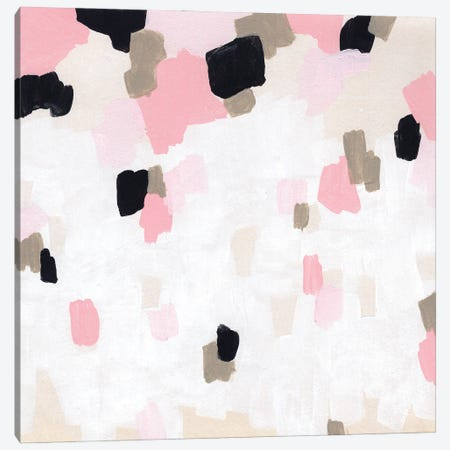 Pixel Pink II Canvas Print #JEV2733} by June Erica Vess Canvas Print