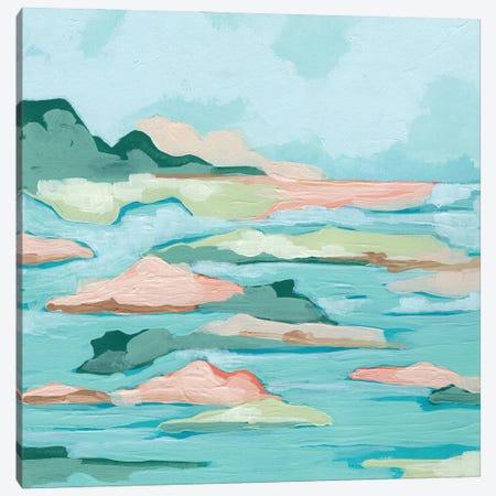 Seafoam Coast I Canvas Print #JEV2737} by June Erica Vess Canvas Art
