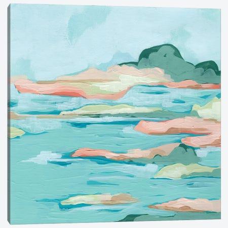Seafoam Coast II Canvas Print #JEV2738} by June Erica Vess Canvas Art Print