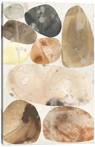Stone Mosaic I Canvas Art Print