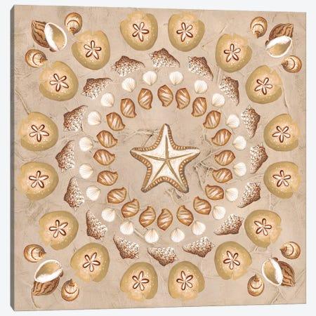 La Mer Medallions I Canvas Print #JEV2743} by June Erica Vess Canvas Artwork