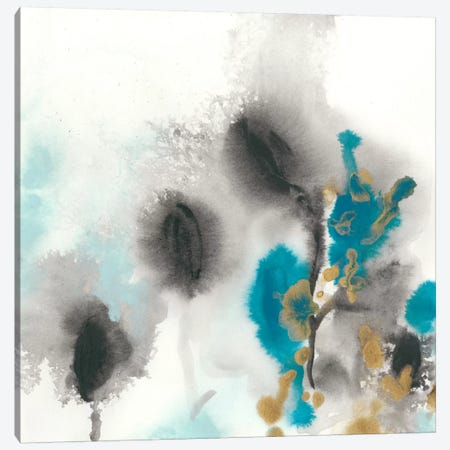 Cerulean Mirage I Canvas Print #JEV274} by June Erica Vess Canvas Artwork