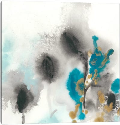 Cerulean Mirage I Canvas Art Print