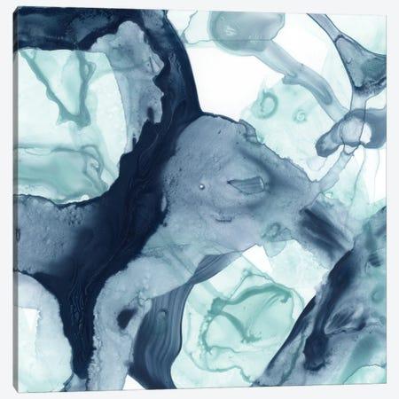 Blue Cavern V Canvas Print #JEV2751} by June Erica Vess Canvas Art Print