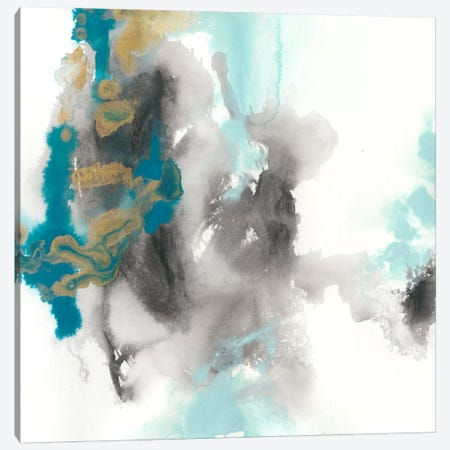 Cerulean Mirage II Canvas Print #JEV275} by June Erica Vess Canvas Art