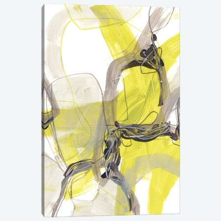 Cement Citron II Canvas Print #JEV2763} by June Erica Vess Canvas Wall Art